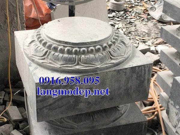 Những mẫu chân cột đá tự nhiên đẹp bán tại bạc liêu
