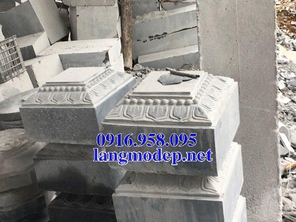 Những mẫu chân cột đá tự nhiên đẹp bán tại bến tre