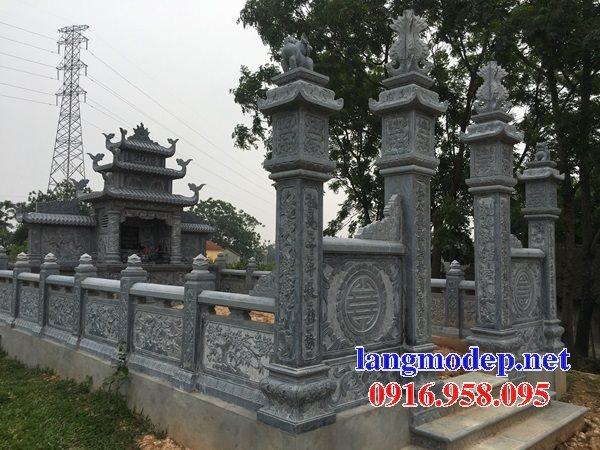 Thiết kế nghĩa trang gia đình dòng họ đẹp bằng đá