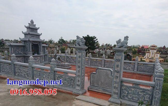 Xây nghĩa trang gia đình bằng đá đẹp