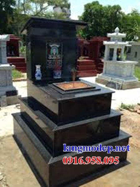 39 Mẫu mộ đá hoa cương kim sa ấn độ nguyên khối đẹp