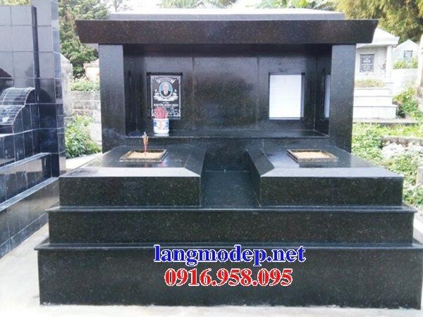 39 Mẫu mộ đá hoa cương kim sa nguyên khối đẹp bán tại điện biên