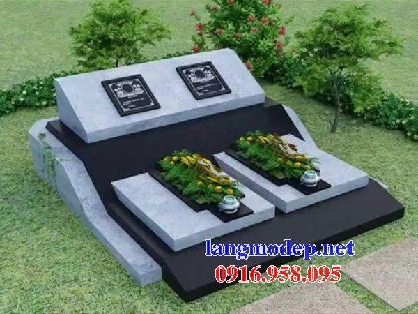 39 Mẫu mộ đá hoa cương kim sa nguyên khối đẹp bán tại hà giang