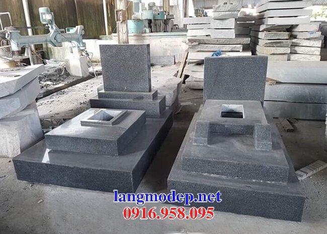39 Mẫu mộ đá hoa cương kim sa nguyên khối đẹp bán tại hà tĩnh