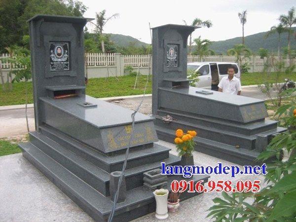 39 Mẫu mộ đá hoa cương kim sa nguyên khối đẹp bán tại lào cai