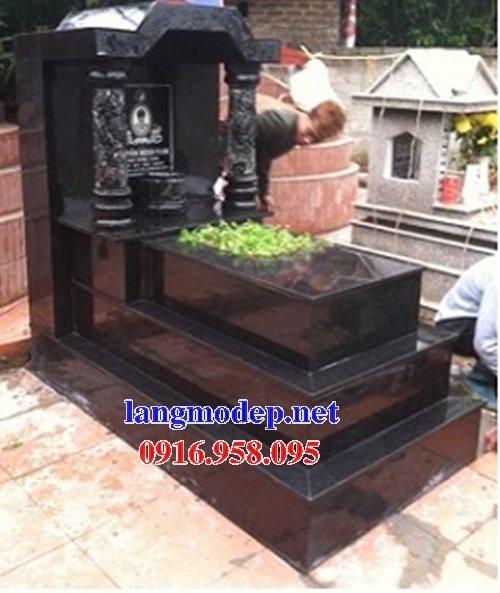 39 Mẫu mộ đá hoa cương kim sa nguyên khối đẹp bán tại nam định