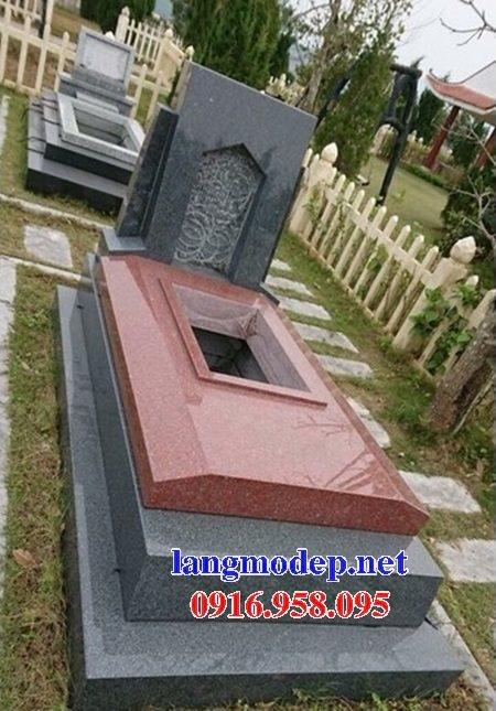 39 Mẫu mộ đá hoa cương kim sa nguyên khối đẹp bán tại phú thọ