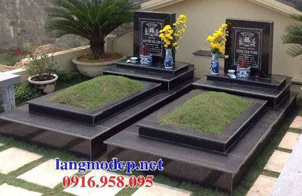 39 Mẫu mộ đá hoa cương kim sa nguyên khối đẹp bán tại thanh hóa