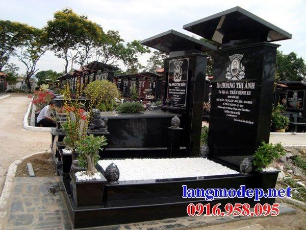 39 Mẫu mộ đá hoa cương kim sa nguyên khối đẹp bán tại tuyên quang