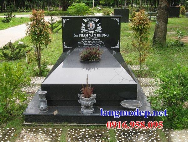 39 Mẫu mộ đá hoa cương kim sa nguyên khối đẹp bán thái bình