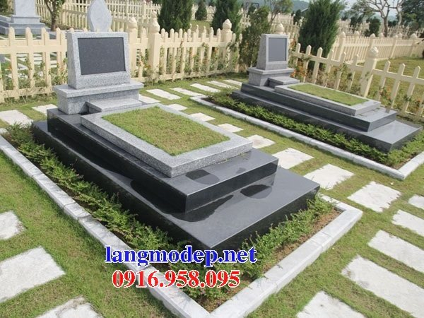 39 Mẫu mộ đá hoa cương nguyên khối đẹp bán tại hải phòng