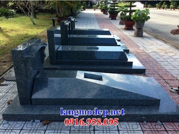 39 Mẫu mộ đá hoa cương nguyên khối đẹp bán tại lạng sơn