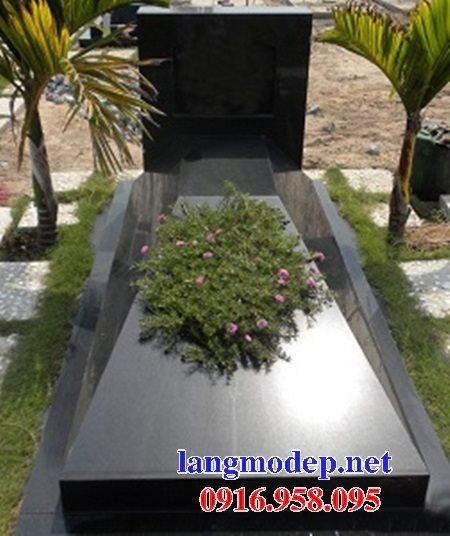 39 Mẫu mộ đá hoa cương nguyên khối đẹp kích thước chuẩn phong thủy