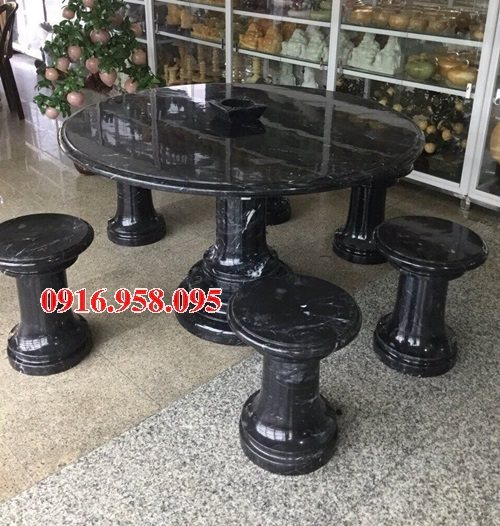 100 Mẫu bộ bàn ghế đá tự nhiên đẹp nguyên khối bán tại đà nẵng