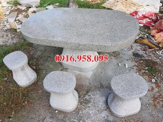 100 Mẫu bộ bàn ghế đá tự nhiên đẹp nguyên khối bán tại đắk lắk