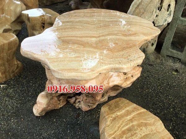 100 Mẫu bộ bàn ghế đá tự nhiên đẹp nguyên khối bán tại bến tre