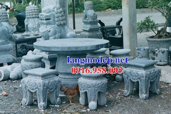 100 Mẫu bộ bàn ghế đá tự nhiên đẹp nguyên khối bán tại hà giang