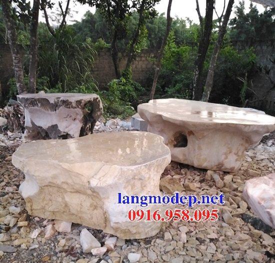100 Mẫu bộ bàn ghế đá tự nhiên đẹp nguyên khối bán tại hà nội