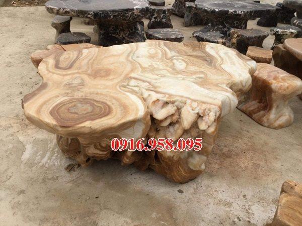 100 Mẫu bộ bàn ghế đá tự nhiên đẹp nguyên khối bán tại long an