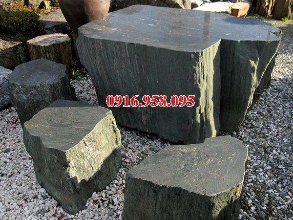 100 Mẫu bộ bàn ghế đá tự nhiên đẹp nguyên khối bán tại nghệ an