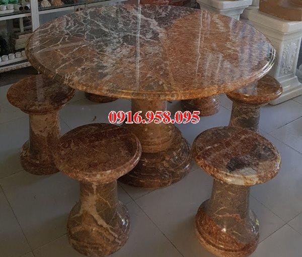 100 Mẫu bộ bàn ghế đá tự nhiên đẹp nguyên khối bán tại phú yên