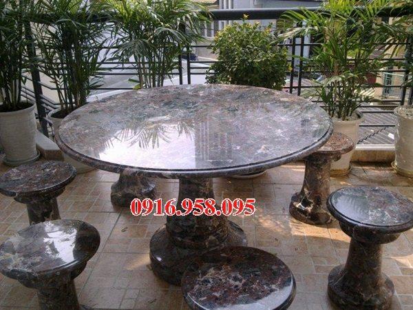 100 Mẫu bộ bàn ghế đá tự nhiên đẹp nguyên khối bán tại quảng bình