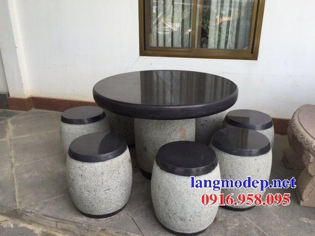 100 Mẫu bộ bàn ghế đá tự nhiên đẹp nguyên khối bán tại sóc trăng