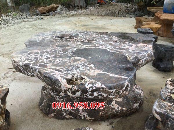 100 Mẫu bộ bàn ghế đá tự nhiên đẹp nguyên khối bán tại tây ninh