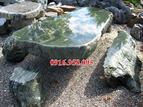 100 Mẫu bộ bàn ghế đá tự nhiên đẹp nguyên khối bán tại vĩnh long