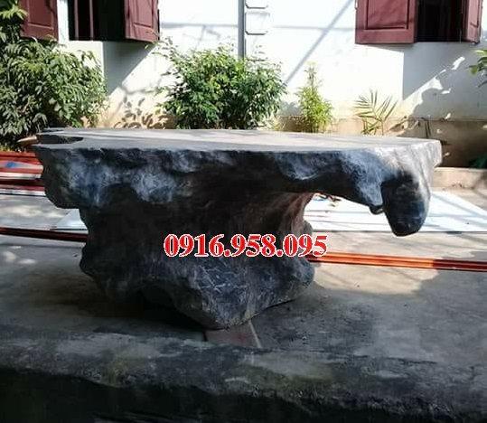 100 Mẫu bộ bàn ghế đá tự nhiên đẹp nguyên khối bán tại yên bái