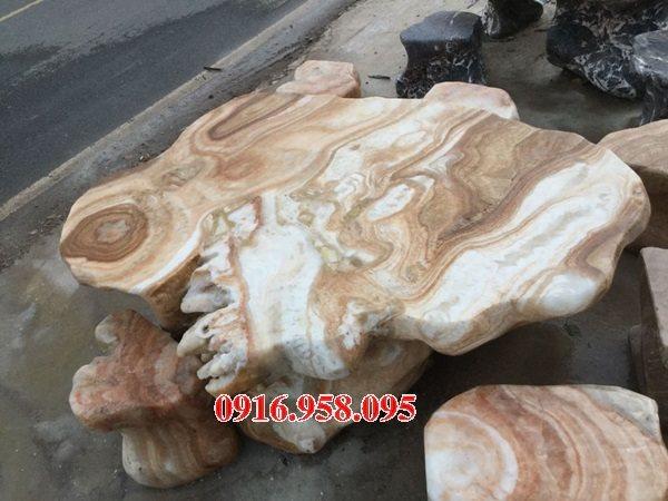 100 Mẫu bộ bàn ghế đá tự nhiên nguyên khối lắp đặt ngoài sân vườn đẹp bán tại bà rịa vũng tàu