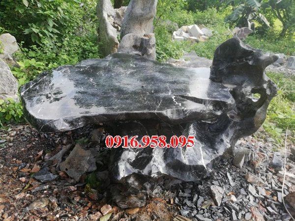 100 Mẫu bộ bàn ghế đá tự nhiên nguyên khối lắp đặt ngoài sân vườn đẹp bán tại hà tĩnh