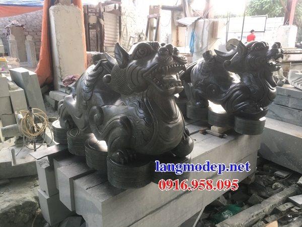 Các mẫu tượng tỳ hưu bằng đá đẹp bán tại cao bằng