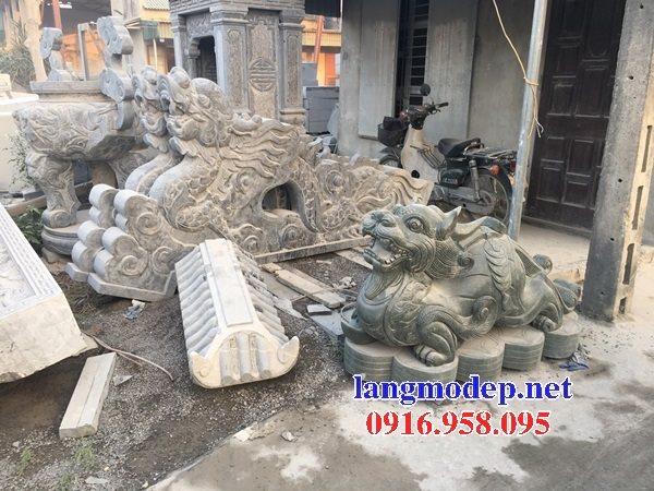 Các mẫu tượng tỳ hưu bằng đá đẹp bán tại lào cai
