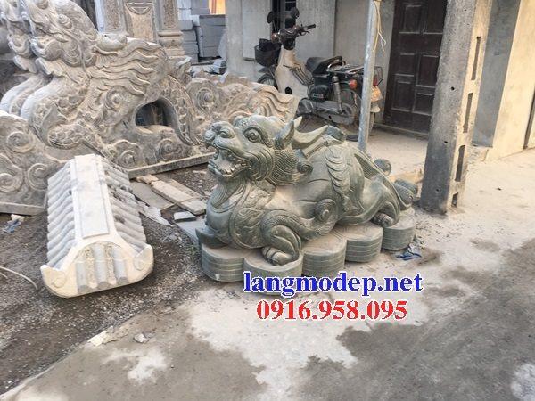 Các mẫu tượng tỳ hưu bằng đá đẹp bán tại lai châu