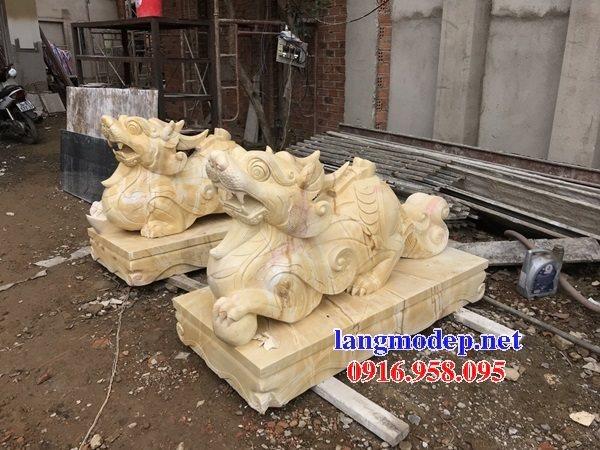 Các mẫu tượng tỳ hưu bằng đá đẹp bán tại nam định