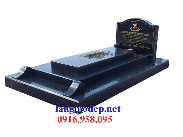 Xây bán sẵn mộ bằng đá hoa cương granite kim sa tự nhiên nguyên khối đẹp tại hà nội