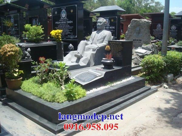 Xây bán sẵn mộ bằng đá hoa cương granite kim sa tự nhiên nguyên khối đẹp tại hải phòng