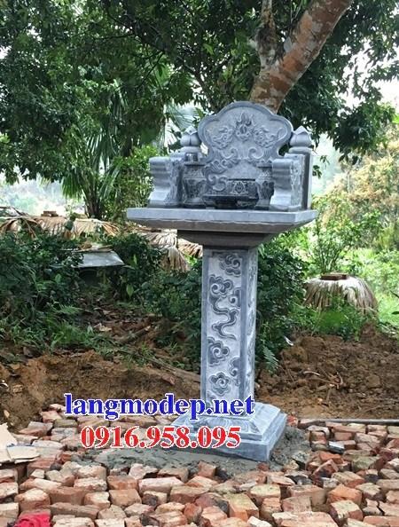 Kích thước miếu cây hương thờ thần linh thổ địa sơn thần bằng đá xanh đẹp bán tại sài gòn tp hồ chí minh