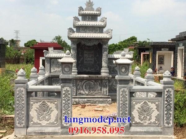 61 Mẫu cổng khu lăng mộ nghĩa trang gia đình dòng họ bằng đá mỹ nghệ Ninh Bình đẹp tại Tiền Giang
