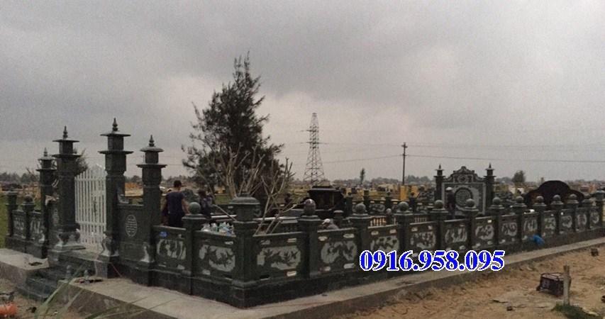 61 Mẫu khu lăng mộ đá xanh rêu đẹp tại Tiền Giang