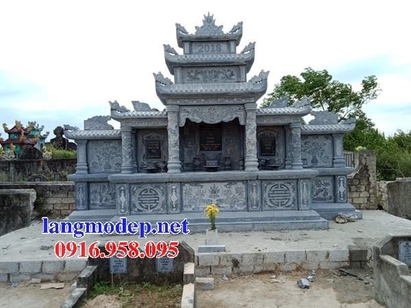 61 Mẫu lăng thờ chung khu lăng mộ gia đình dòng họ bằng đá thiết kế đẹp tại Tiền Giang