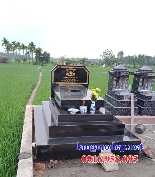61 Mẫu mộ đá granite nguyên khối đẹp tại Tiền Giang
