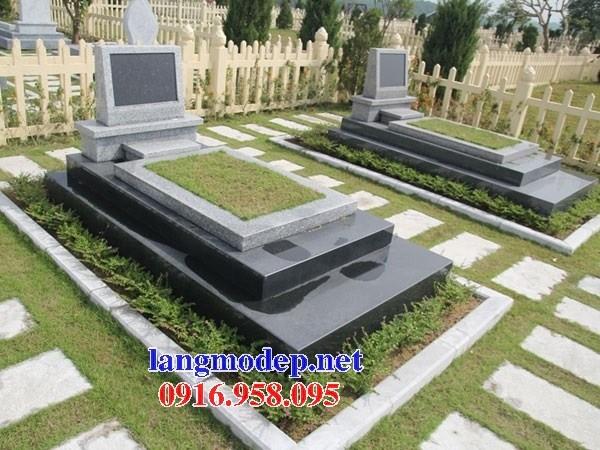61 Mẫu mộ đá granite thiết kế hiện đại đẹp tại Tiền Giang