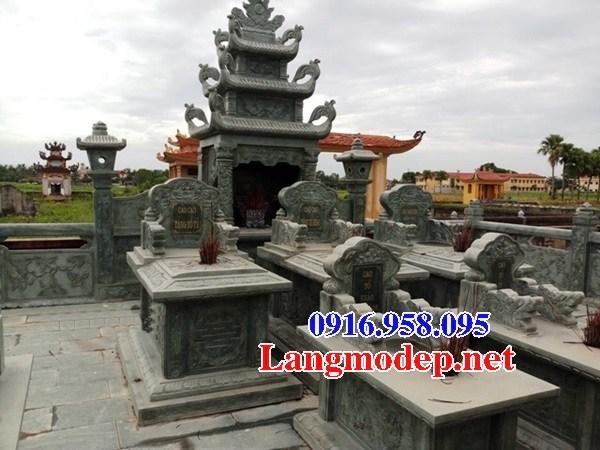 61 Mẫu mộ đá xanh rêu đẹp tại Tiền Giang