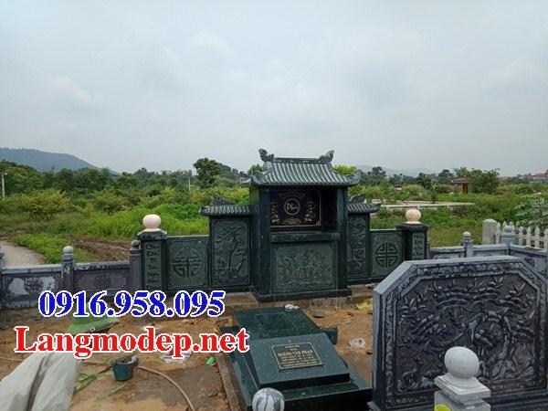 61 Mẫu mộ đá xanh rêu cao cấp đẹp tại Tiền Giang