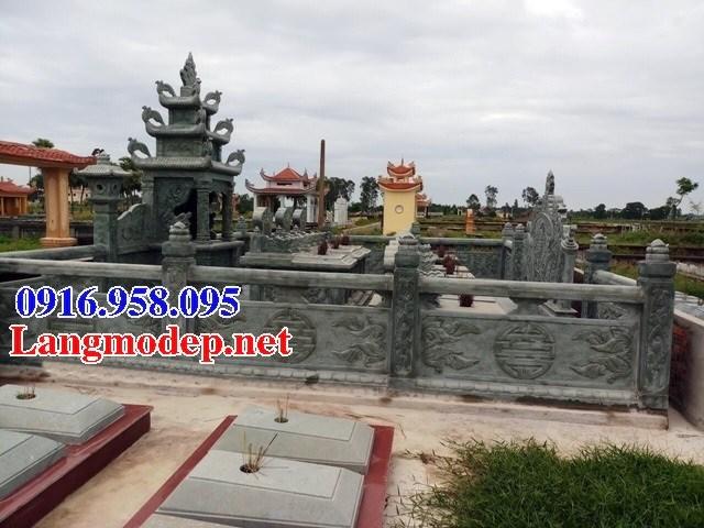 61 Mẫu mộ đá xanh rêu thiết kế hiện đại đẹp tại Tiền Giang