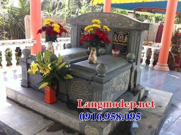 61 Mẫu mộ đôi gia đình bằng đá thiết kế đẹp tại Tiền Giang