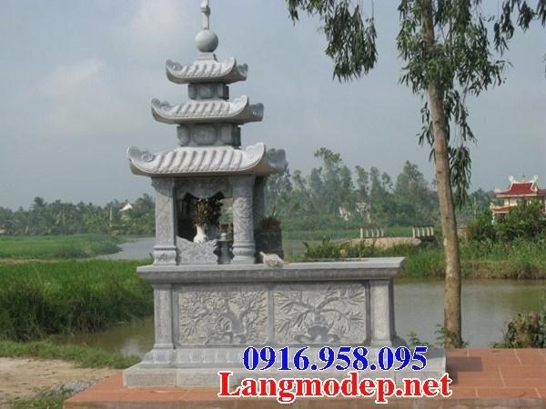 61 Mẫu mộ đạo thiên chúa công giáo bằng đá chạm khắc hoa văn đẹp tại Tiền Giang