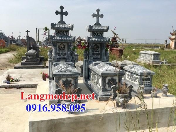 61 Mẫu mộ đạo thiên chúa công giáo bằng đá thiết kế đẹp tại Tiền Giang